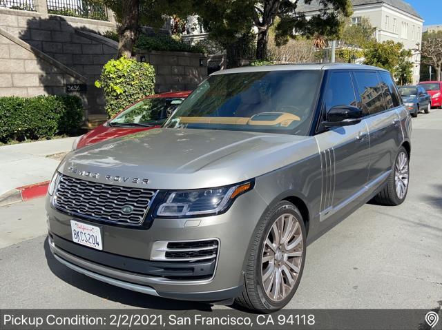 Aspen, CO - Transported a 2019 Land Rover Range Rover from San Francisco, CA to Aspen, CO