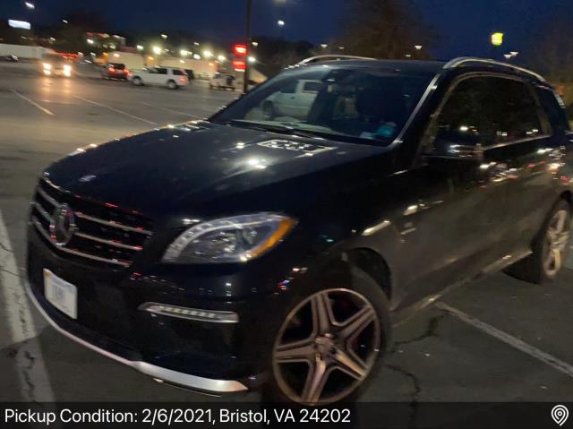 Naples, FL - Transported a 2014 Mercedes-Benz ML AMG from Bristol, VA to Naples, FL