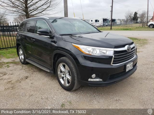 Saint Paul, MN - Transported a 2016 Toyota Highlander from Rockwall, TX to Birchwood, MN.