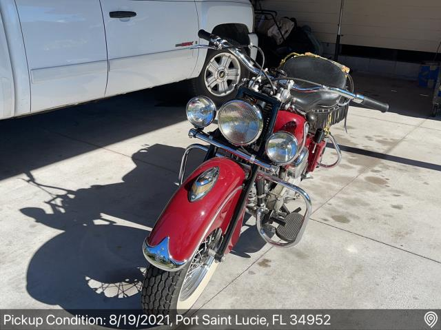 Port St. Lucie, FL - Shipped a motorcycle from Port St Lucie, FL to Farmer City, IL