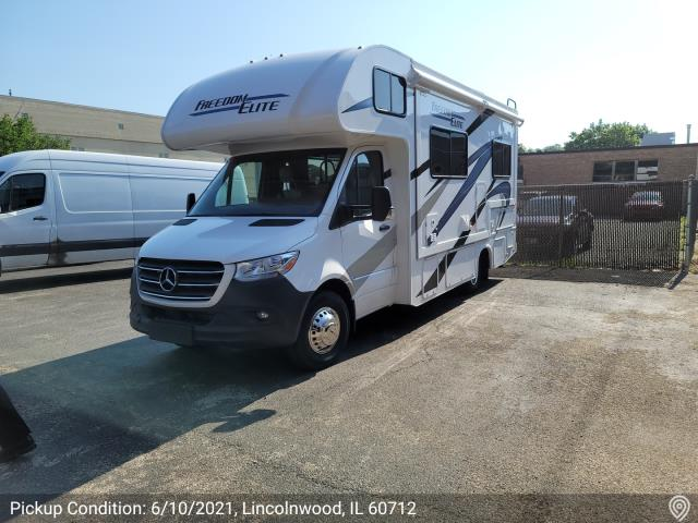 Lincolnwood, IL - Shipped a vehicle from Lincolnwood, IL to Elkhart, IN