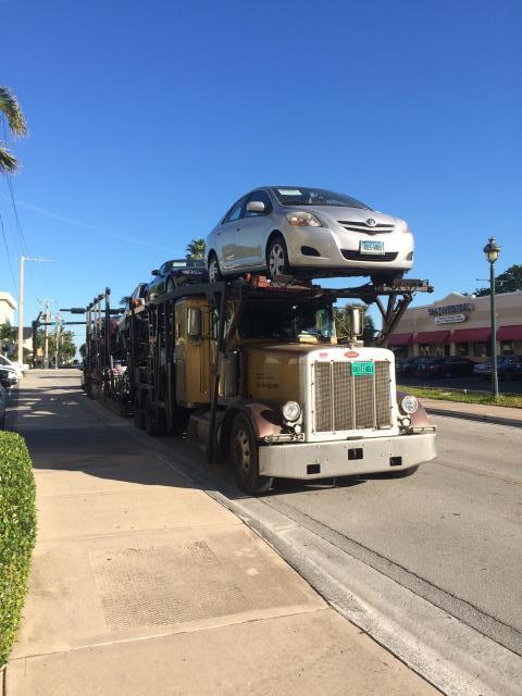 Fort Lauderdale, FL - Picking up a 2016 Volkswagen Jetta for a customer moving to Clayton, NC.