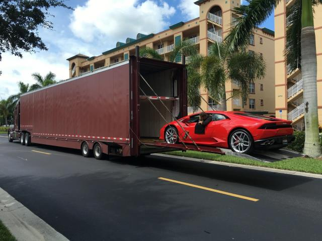 Tampa, FL - Delivering a 2014 Maserati GranTurismo for a customer moving from Phoenix, AZ.