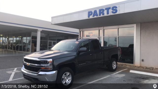 Shelby, NC - Transported a 2018 Chevrolet Silverado 1500 from Orlando, FL and delivered it to Shelby, NC
