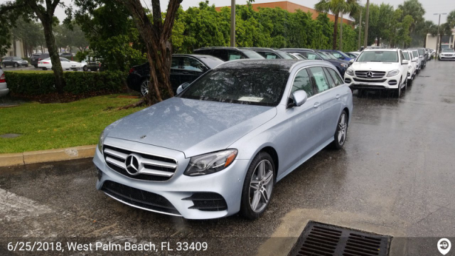 Vienna, VA - Transported a 2018 Mercedes-Benz E400 from West Palm Beach, FL and delivered it to Vienna, VA