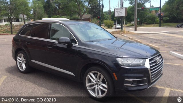 Denver, CO - Transported a 2017 Audi Q7 from Fort Lauderdale, FL and delivered it to Denver, CO