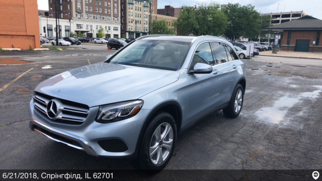Bloomington, MN - Transported a 2018 Mercedes-Benz GLC300 from Springfield, IL and delivered it to Bloomington, MN
