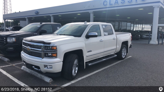 Shelby, NC - Transported a 2015 Chevrolet Silverado from Flint, MI and delivered it to Shelby, NC