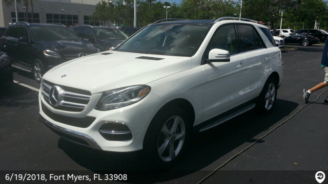 Maitland, FL - Transported a 2018 Mercedes-Benz GLE from Fort Myers, FL and delivered it to Maitland, FL