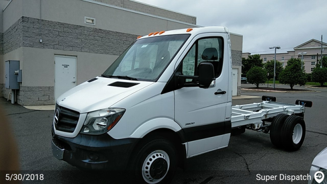 Fredericksburg, VA - Transported a 2015 Sprinter Cab and Chasis from Fredericksburg, VA and delivered it to Napa, CA