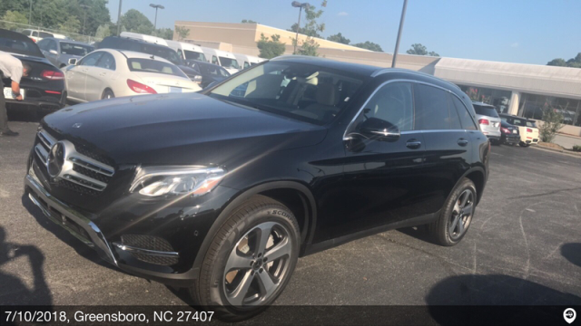 Greensboro, NC - Transported a 2018 Mercedes-Benz GLC300W4 from Greensboro, NC and delivered it to Chicago, IL