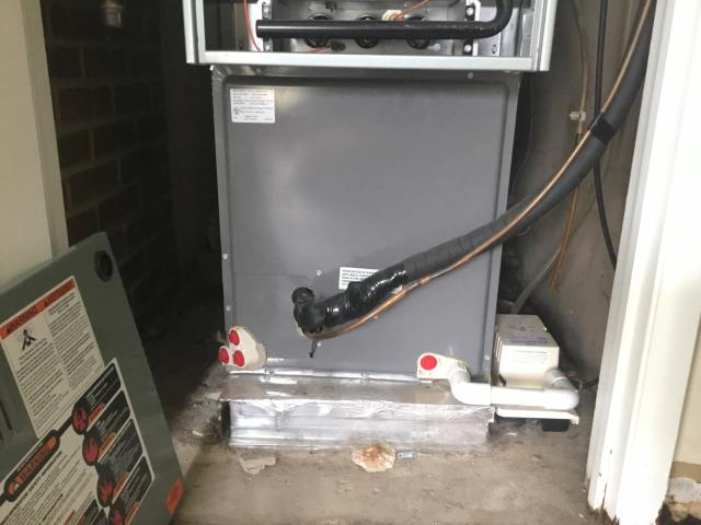 Groveport, OH - Downflow Rheem furnace