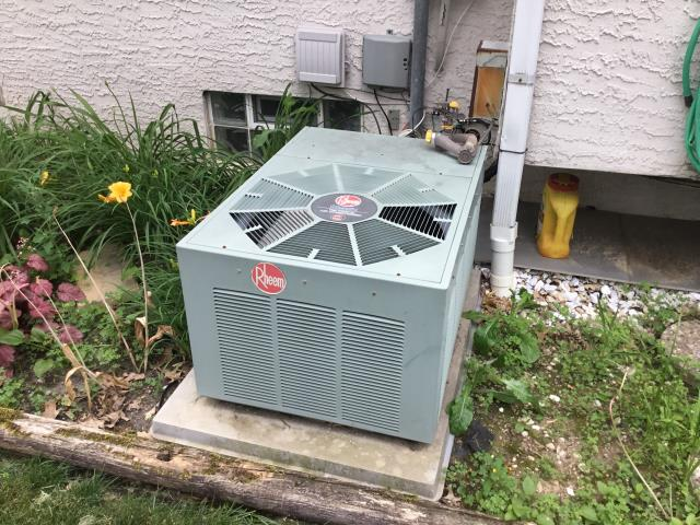 Pickerington, OH - Scheduled maintenance  agreement . Replaced  Space guard Media Filter 201 .Models 2200 & 2500 . Filled blower cap  also checked Coil cleaning