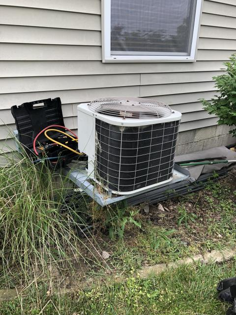 Canal Winchester, OH - Added Freon To Bryant Air Conditioner To Keep AC  Running Efficiently