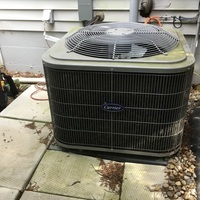 Reynoldsburg, OH - Annual Spring Season tune-up and safety check performed on a 2017 Carrier AC. System is fully operational and ready for the summer season.