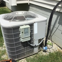 Etna, OH - Spring Tune-up performed on a Bryant Air Conditioner. Replaced the Capacitor 10 and cleaned off outdoor coil.