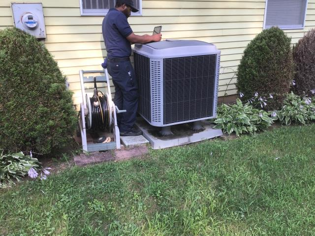 Etna, OH -  Tune-up and safety checkout on Tempstar AC unit