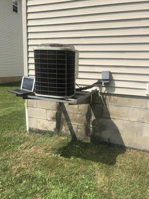 Columbus, OH - Diagnostic Performed On New Carrier AC System All Readings Were Completed To Manufactures Specs To Keep Carrier AC System Running Efficiently For The Summer Season