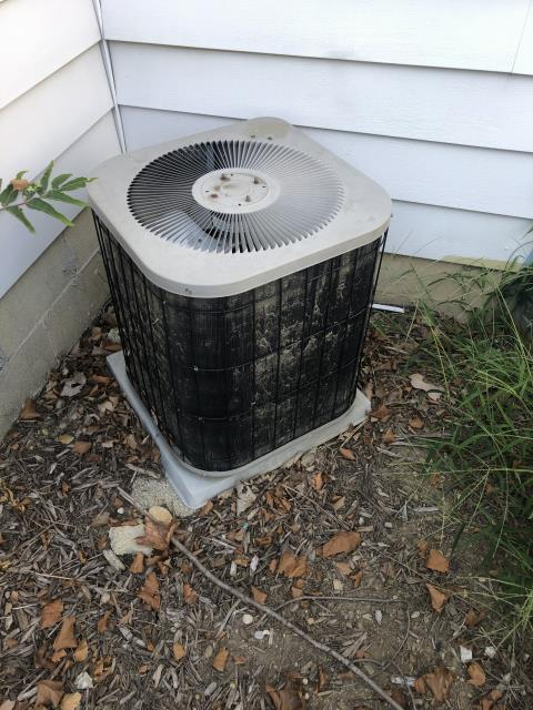 Columbus, OH - Diagnostic Performed Secured Bolts On Condenser Fan Motor To Keep Goodman AC Running Efficiently For The Summer Season