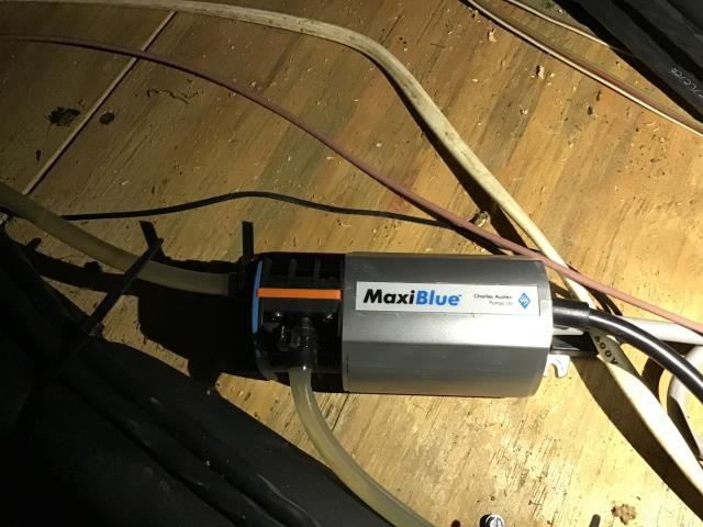 Canal Winchester, OH - Job #70236 Installed extension cable for Mega Blue Condensate Pump