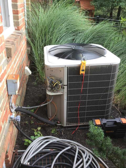 New Albany, OH - Replaced out of warranty part on TRANE unit