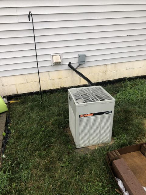 Sunbury, OH - Performed Tune up & Installation Inspection on Carrier A/C unit.