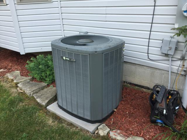 Groveport, OH - Diagnostic Performed Replacing TXV On Trane AC System To Keep AC Running Efficiently For The Summer Season