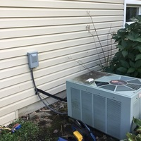 Carroll, OH - Diagnostic Service Call on 1999 Rheem AC unit
