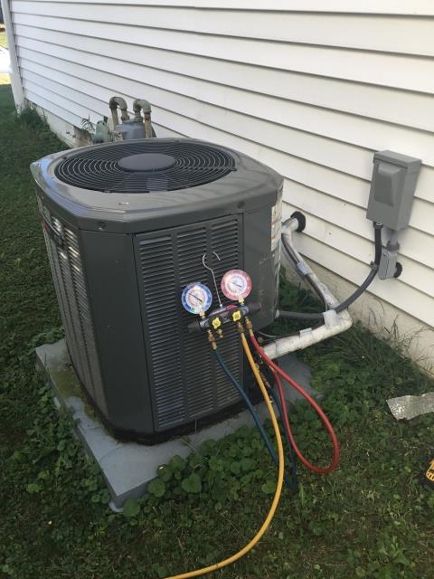 Lancaster, OH - Diagnostic Service Call on Trane unit