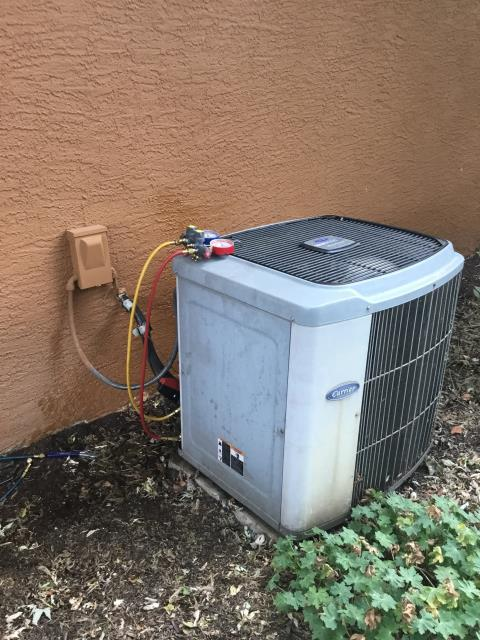 Groveport, OH - Installing New Carrier 13 SEER 2.5 Ton Air Conditioner & New Spirit fuel oil furnace To Replace Existing Furnace & AC System