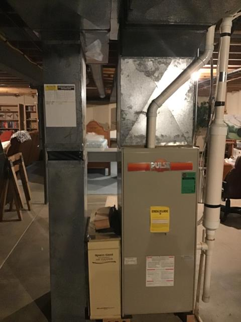 Westerville, OH - Provided Quote New Carrier Gas Furnace To Replace Existing Lennox Gas Furnace