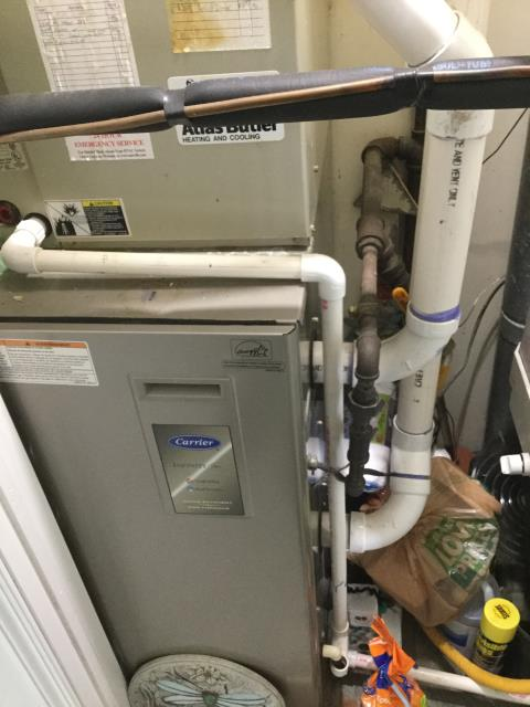 Westerville, OH - Performed Our Special Tune-Up & Safety Checkout On Carrier Gas Furnace To Keep Furnace Running Efficiently For The Fall/Winter Season