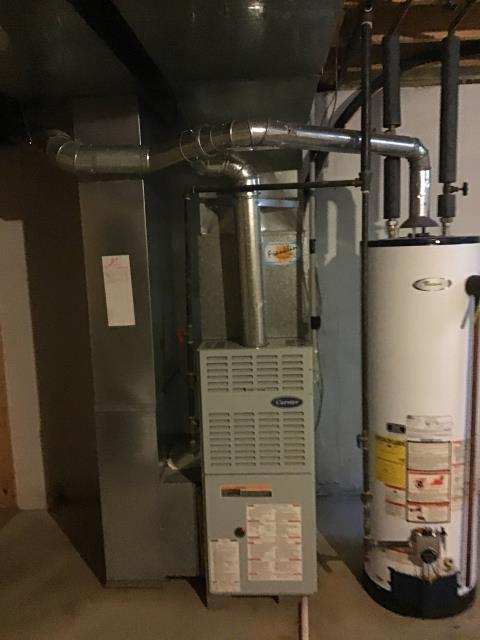 Pickerington, OH - Diagnostic Performed Took Furnace Out Of Lockout Mode On Carrier Gas Furnace To Keep Furnace Running Efficiently For The Winter Season