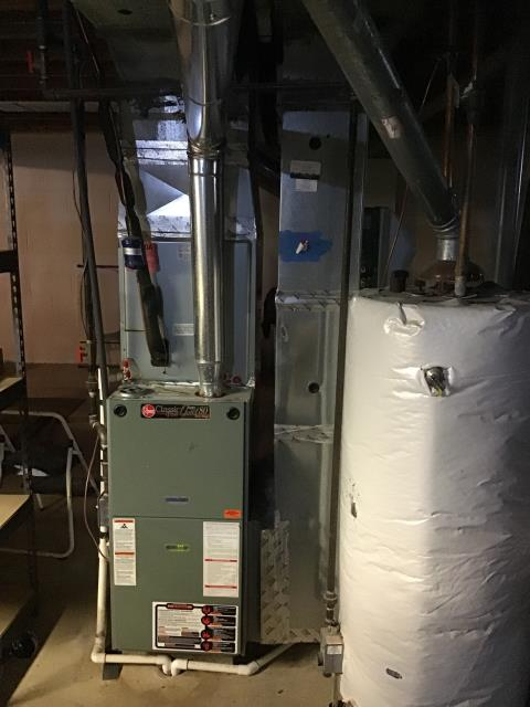 Pickerington, OH - Performed Our Special Tune-Up & Safety Checkout On Rheem Gas Furnace To Keep Furnace Running Efficiently For The Fall/Winter Season
