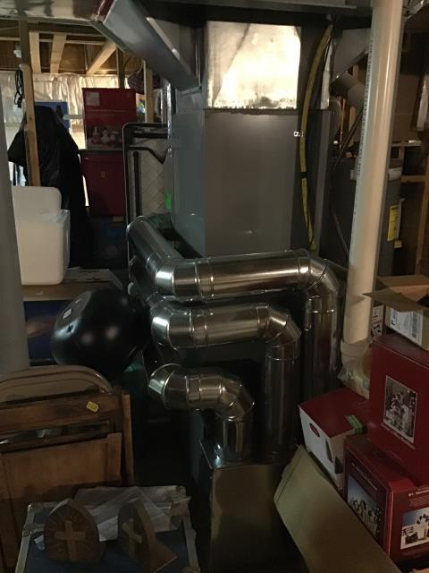 Pataskala, OH - Provided Estimate New Carrier Gas Furnace 96% Variable Two-Stage 120,000 BTU & New Carrier 17 SEER 2 STAGE 5 Ton Air Conditioner To Replace Existing Tempstar Furnace & AC