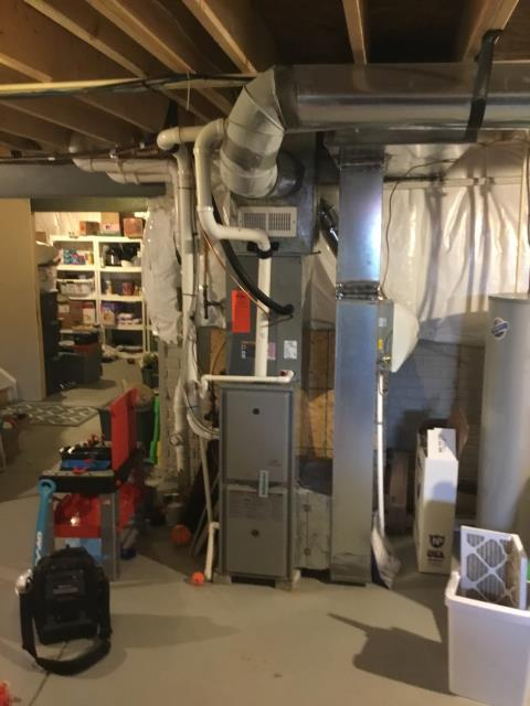 Pataskala, OH - Performed Our Special Tune-Up & Safety Checkout On Comfortmaker Gas Furnace To Keep Furnace Running Efficiently For The Fall/Winter Season