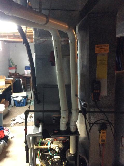 Groveport, OH - Performed Our Special Tune-Up & Safety Checkout On Comfortmaker Gas Furnace To Keep Furnace Running Efficiently For The Fall/Winter Season