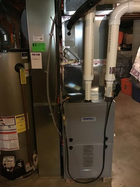 Etna, OH - Fall Checkout / Tune-Up on SPRING furnace/All levels were within specifications./  Replaced customer provided humidifier pad and filter at customer's request./  Upon departure, unit is operating as expected./
