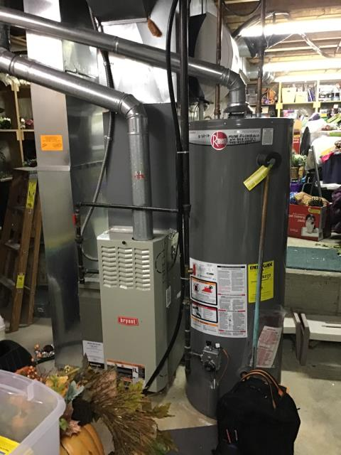 Pataskala, OH - Performed Our Special Tune-Up & Safety Checkout On Bryant Gas Furnace To Keep Furnace Running Efficiently For The Fall/Winter Season