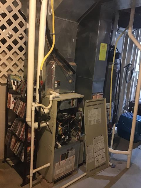 Blacklick, OH - Provided Quote New Carrier 96% 60,000 BTU Gas Furnace To Replace Existing Bryant Gas Furnace