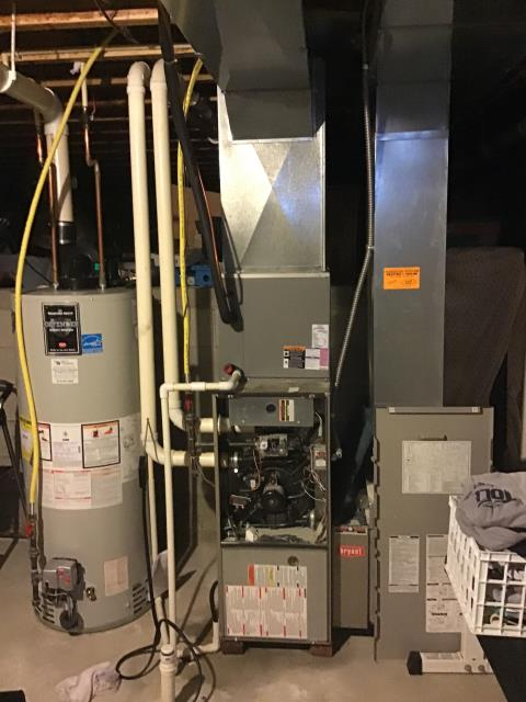 Blacklick, OH - Performed Our Special Tune-Up & Safety Checkout On Bryant Gas Furnace To Keep Furnace Running Efficiently For The Fall/Winter Season