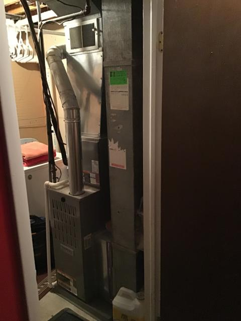 Reynoldsburg, OH - Performed Our Special Tune-Up & Safety Checkout On Tempstar  Gas Furnace To Keep Furnace Running Efficiently For The Fall/Winter Season