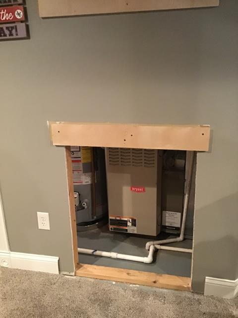 Etna, OH - Performed Our Special Tune-Up & Safety Checkout On Bryant  Gas Furnace To Keep Furnace Running Efficiently For The Fall/Winter Season