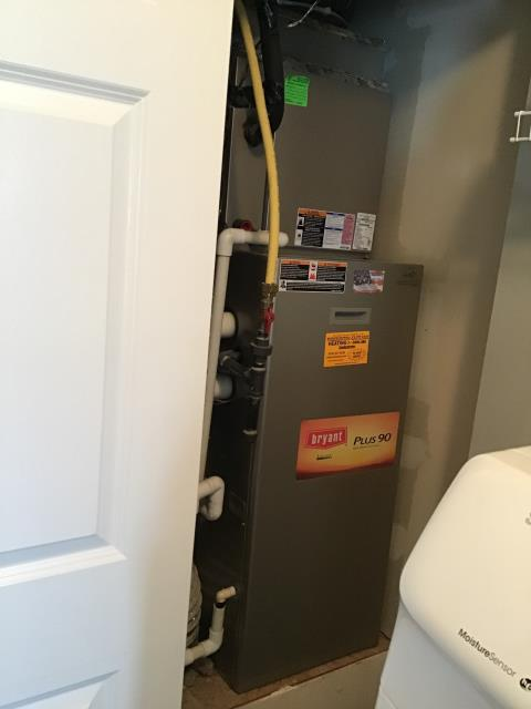Blacklick, OH - Furnace tune - up and safety check performed on a 2009 Bryant furnace unit. Confirmed that the system is working within manufacturer specifications.