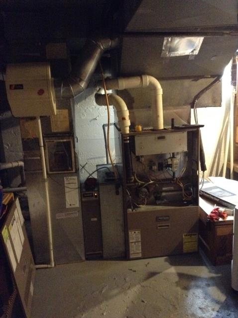 Columbus, OH - Performed Our Special Tune-Up & Safety Checkout On Carrier Gas Furnace To Keep Furnace Running Efficiently For The Fall/Winter Season