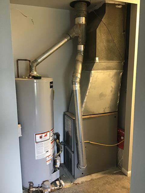 Whitehall, OH - Performed Our Special Tune-Up & Safety Checkout On a Carrier Gas Furnace To Keep Furnace Running Efficiently For The Fall/Winter Season.
