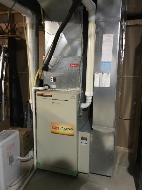 Blacklick, OH - Technician found faulty ignitor in a Bryant gas furnace. He replaced the ignitor and now the system is running properly and efficiently.