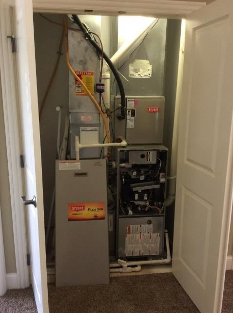 Blacklick, OH - Performed Our Special Tune-Up & Safety Checkout On a Bryant Gas Furnace To Keep Furnace Running Efficiently For The Winter Season.