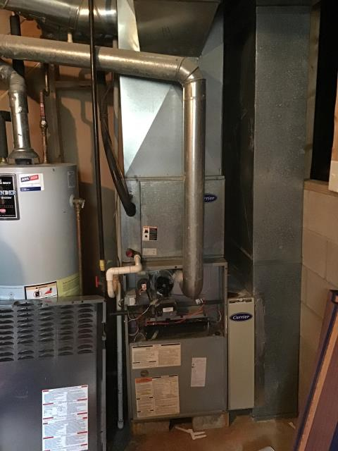 Pickerington, OH - Performed complete tuneup and safety inspection on a gas furnace to ensure efficient operation for the winter season of 2019/2020.