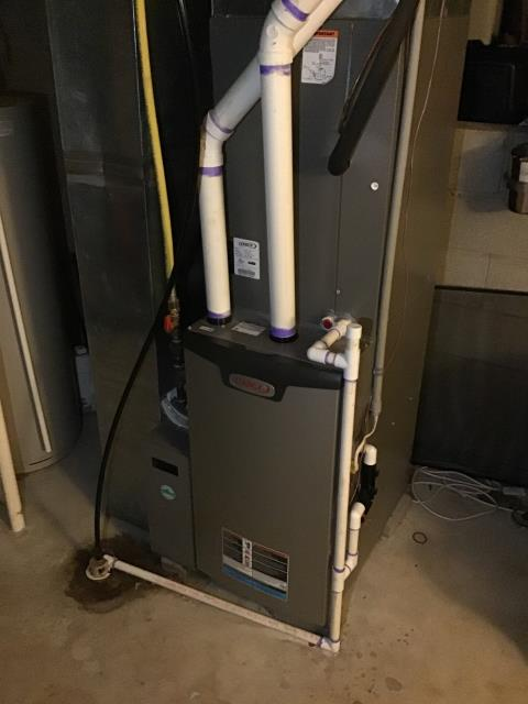 Canal Winchester, OH - Performed a tuneup and safety inspection on a Lennox furnace. The system is operating according to the manufacturer's specifications, and is ready for the winter months.